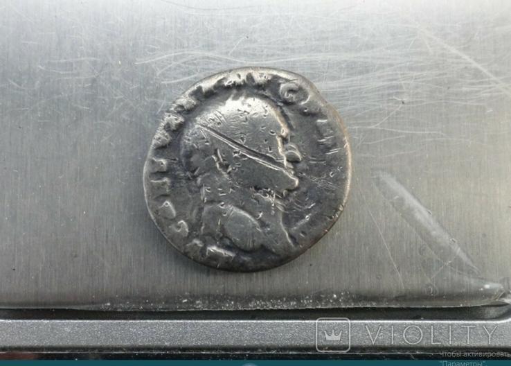 Денарий, Веспасиан, жертовный набор., фото №7