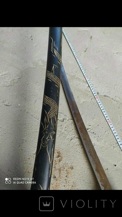 Копия японского меча катана, фото №8