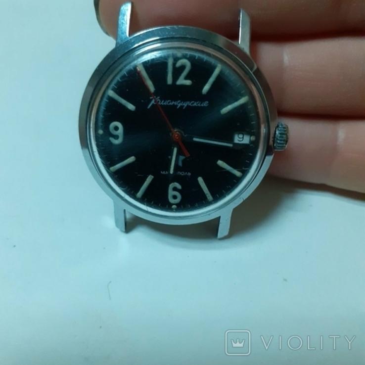 Часы командирские МО СССР ранние, фото №3