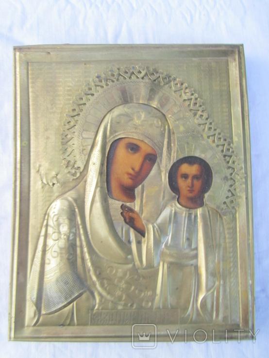 Икона Казанская ПР БМ, фото №2