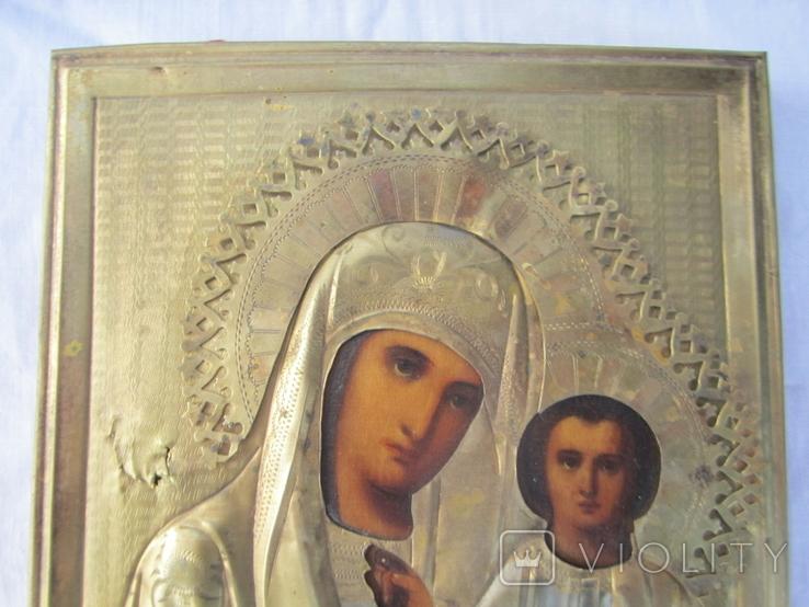 Икона Казанская ПР БМ, фото №3