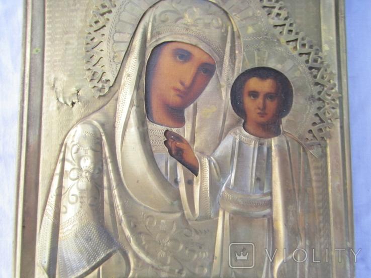 Икона Казанская ПР БМ, фото №4