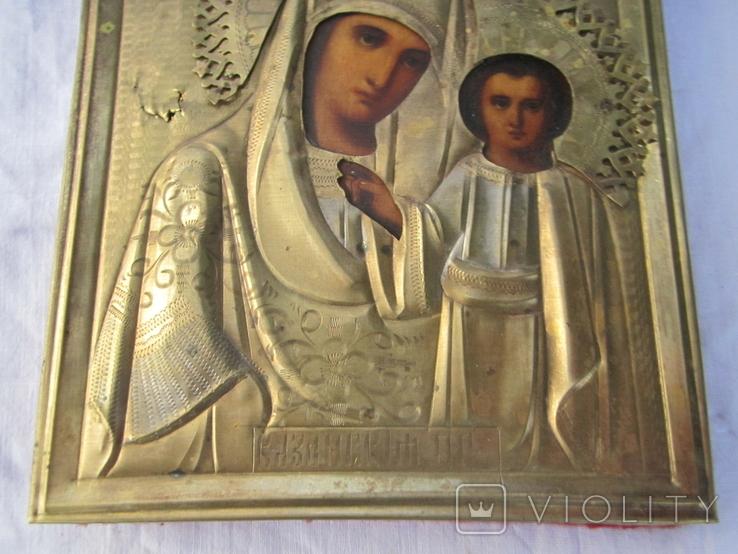 Икона Казанская ПР БМ, фото №5