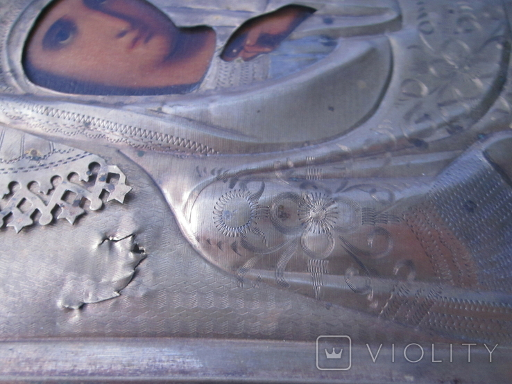 Икона Казанская ПР БМ, фото №6