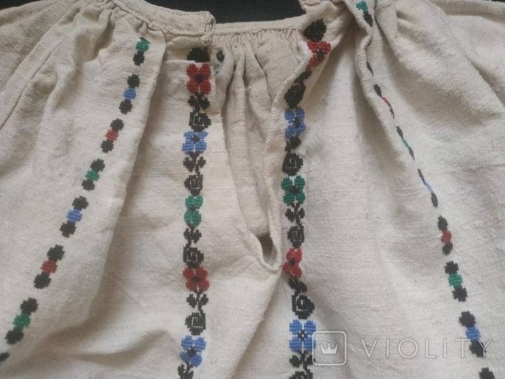 Старинная сорочка вышиванка. Сорочка старовинна, буденна, фото №5