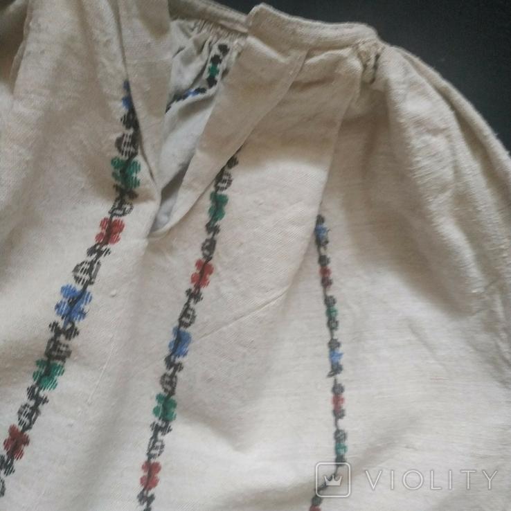Старинная сорочка вышиванка. Сорочка старовинна, буденна, фото №9