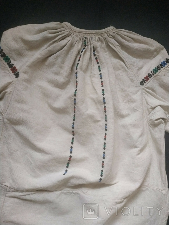 Старинная сорочка вышиванка. Сорочка старовинна, буденна, фото №12