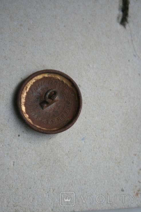 Пуговица номерная номер 33, фото №4