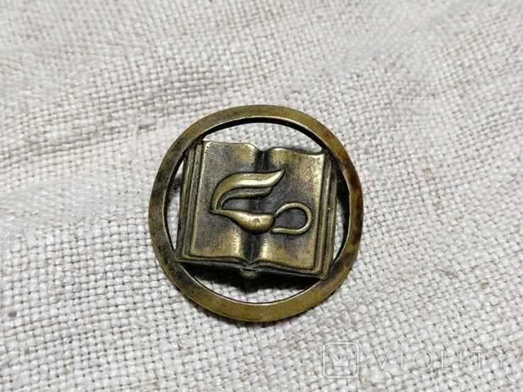 Значок с закруткой на кашкет поляцького школярика., фото №2