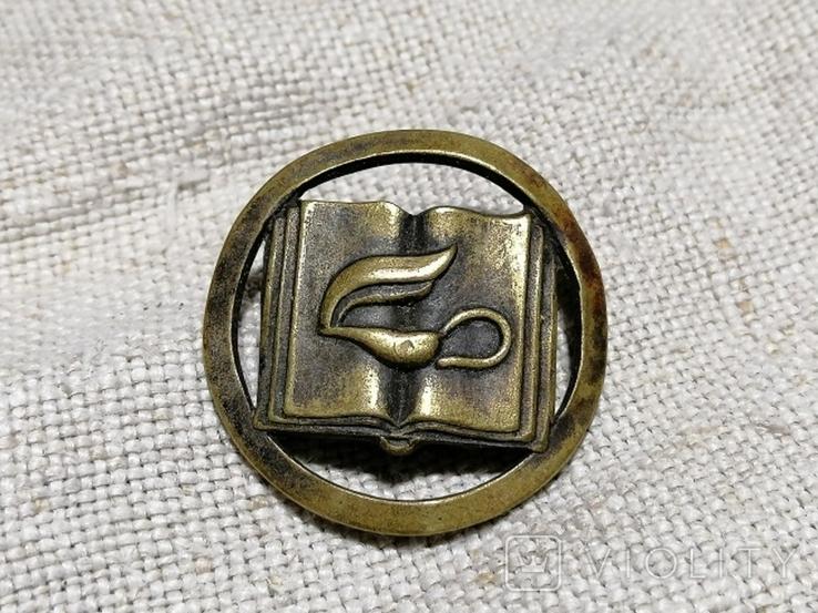 Значок с закруткой на кашкет поляцького школярика., фото №4