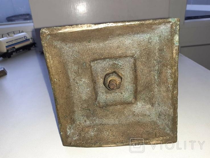 Крест бронзовый лот 2, фото №3