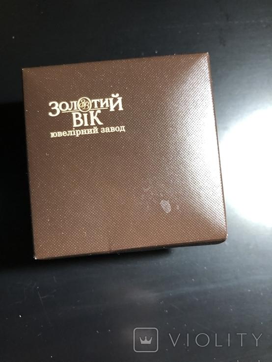 Золотой набор с натуральными топазами, фото №8