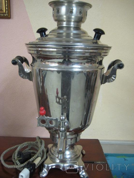 Самовар электрический 2,5 литра ., фото №2
