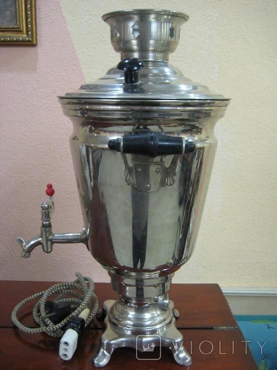Самовар электрический 2,5 литра ., фото №3