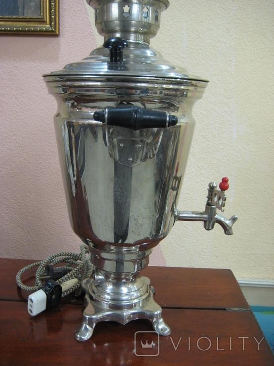 Самовар электрический 2,5 литра ., фото №5