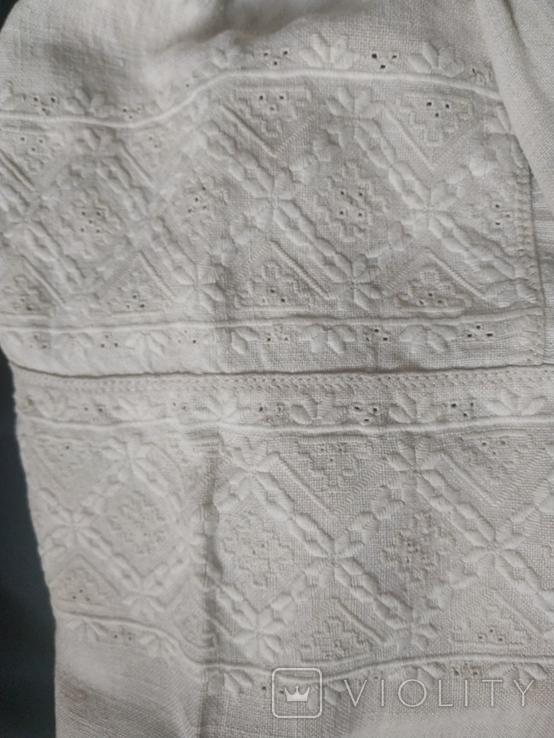 Старинная сорочка вышиванка. Сорочка вишита святкова., фото №4