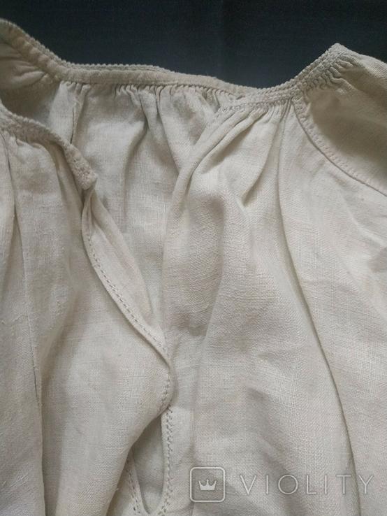 Старинная сорочка вышиванка. Сорочка вишита святкова., фото №6