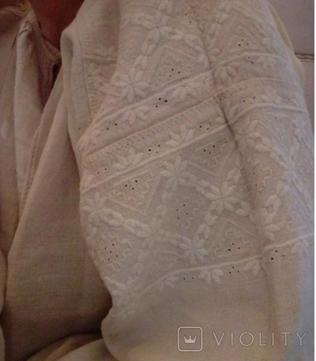 Старинная сорочка вышиванка. Сорочка вишита святкова., фото №8