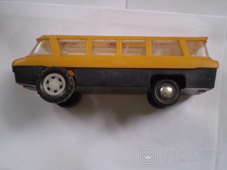Автобус СССР игрушка цена и клеймо большой автобус, фото №2