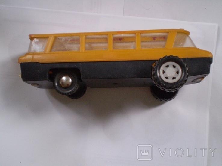 Автобус СССР игрушка цена и клеймо большой автобус, фото №5