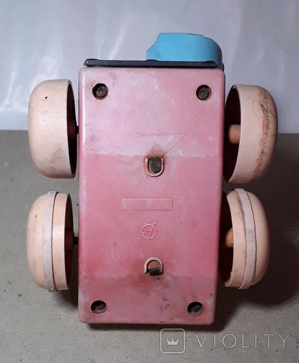 Детская Машинка Каталка СССР ,Клеймо,на запчасти, фото №4