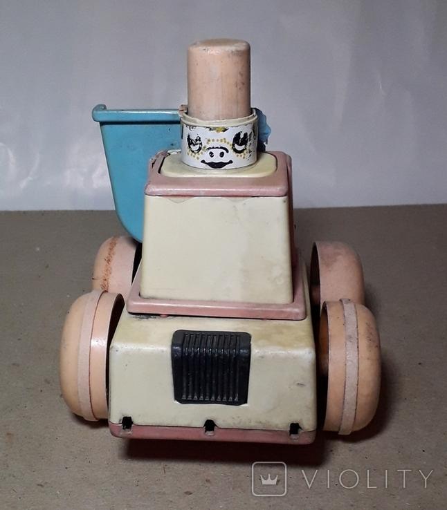 Детская Машинка Каталка СССР ,Клеймо,на запчасти, фото №6