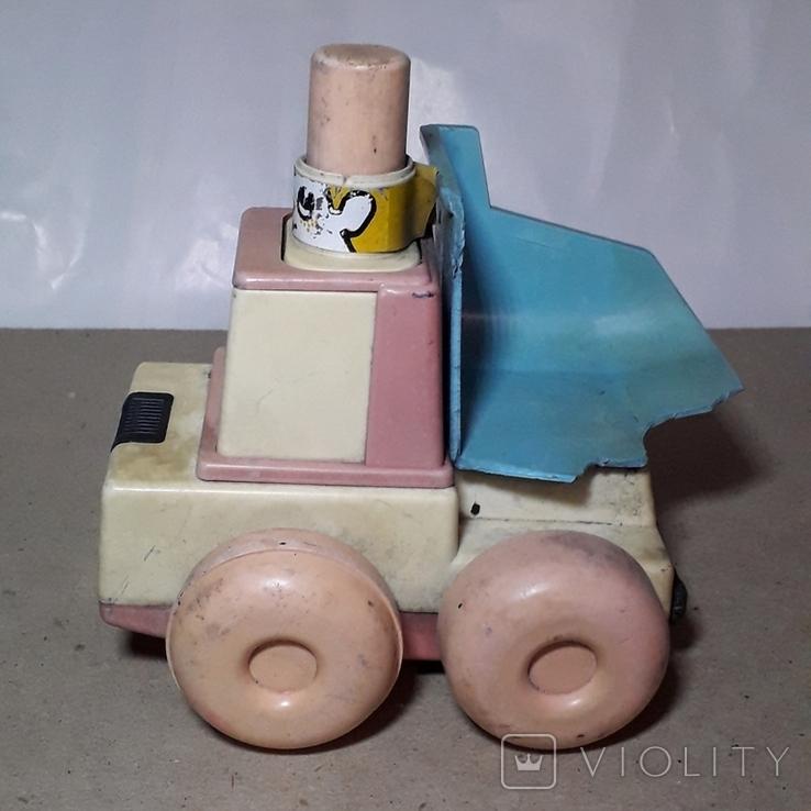 Детская Машинка Каталка СССР ,Клеймо,на запчасти, фото №7