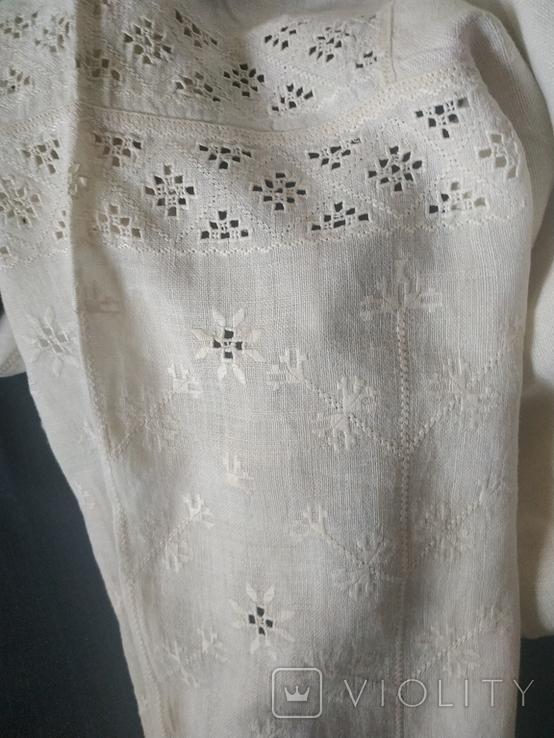 Старинная сорочка вышиванка. Сорочка вишита весільна., фото №3