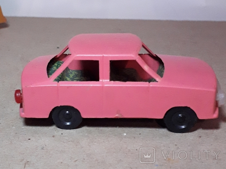 Машинка Жигули СССР длина 9 см., фото №6