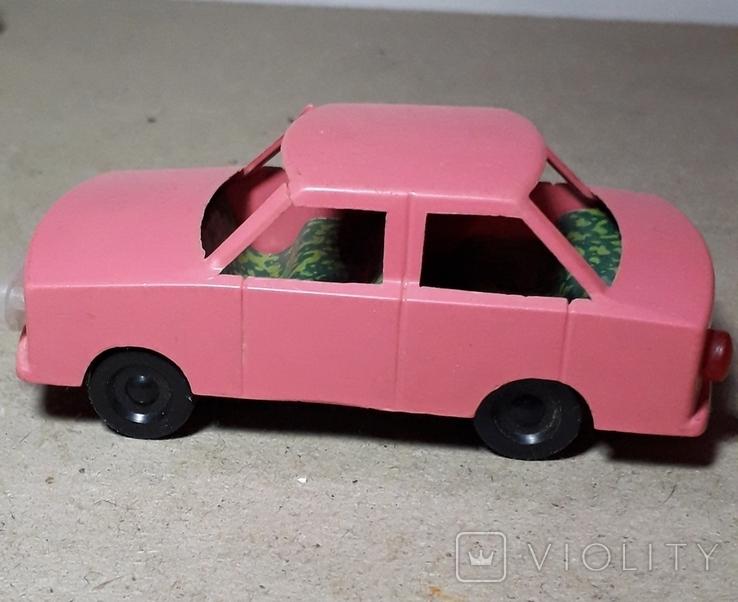 Машинка Жигули СССР длина 9 см., фото №2