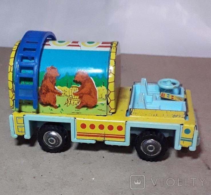 Машинка МЁД  пр-во СССР длина 10 см., фото №3