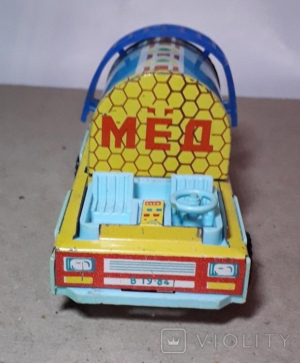 Машинка МЁД  пр-во СССР длина 10 см., фото №4