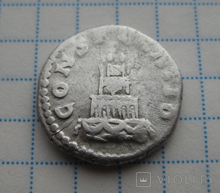 Денарий, Антоний Пий (реверс - погребальный костер), фото №8