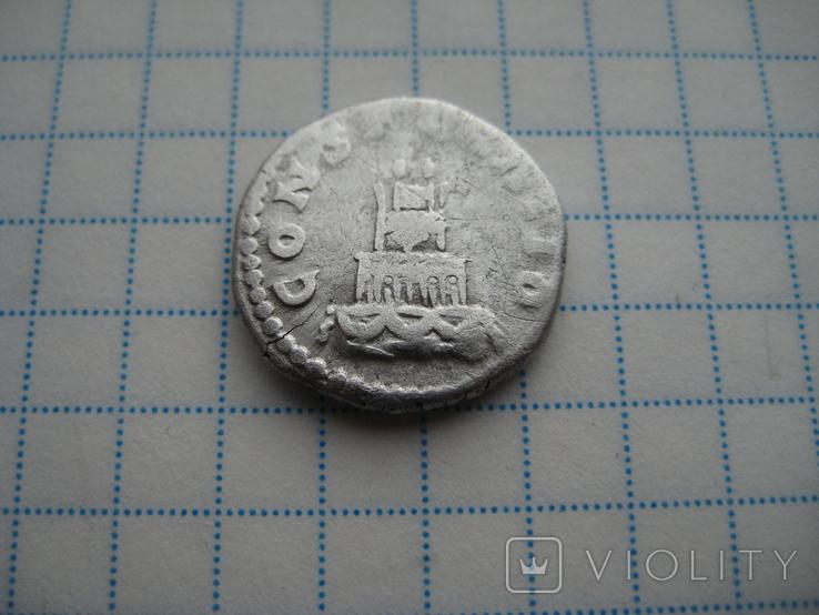 Денарий, Антоний Пий (реверс - погребальный костер), фото №10