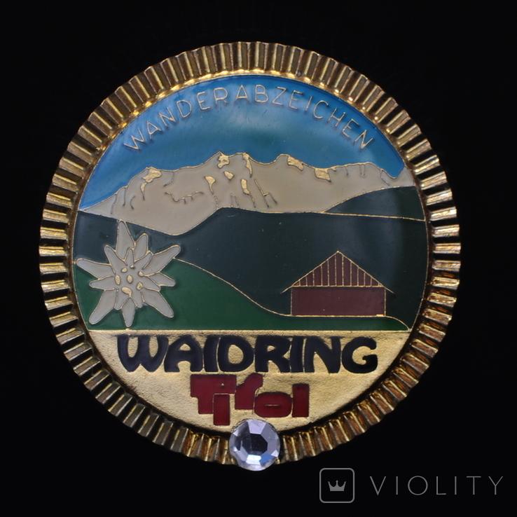 Значек Альпы Вайдринг Тироль Австрия, фото №2