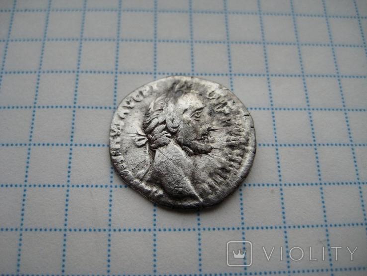 Денарий, Антоний Пий, фото №5