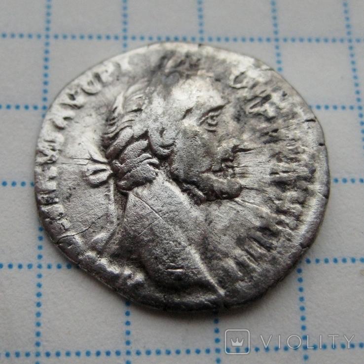 Денарий, Антоний Пий, фото №2