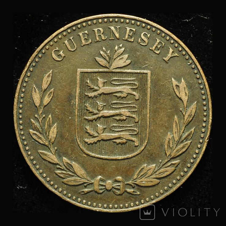 Гернси 8 даблов 1914, фото №3