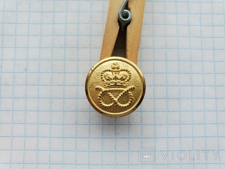 Пуговица Корона узел, фото №2