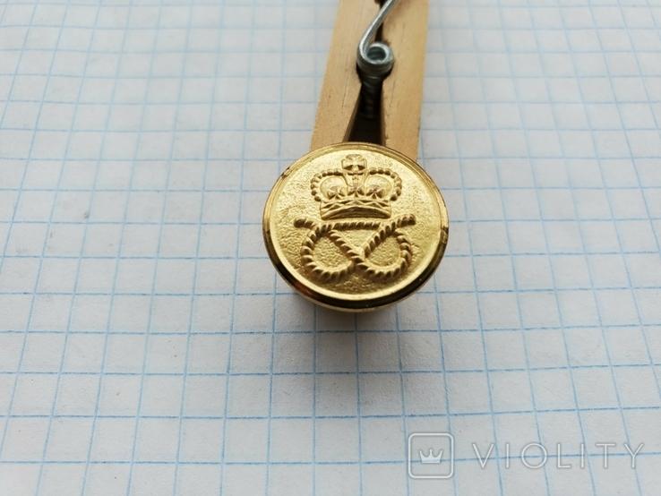 Пуговица Корона узел, фото №3