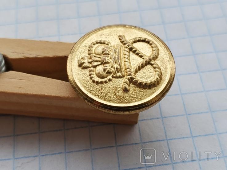 Пуговица Корона узел, фото №4