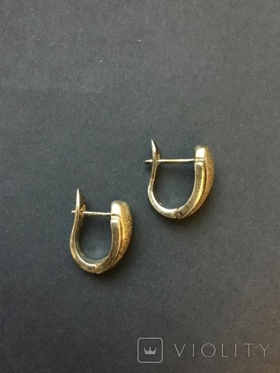Женские сережки, фото №5