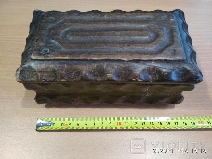 Шкатулка старая, Испания, фото №2