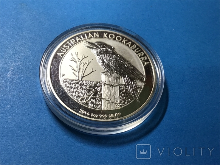 1 доллар Австралия 2016 года. Копия, фото №3