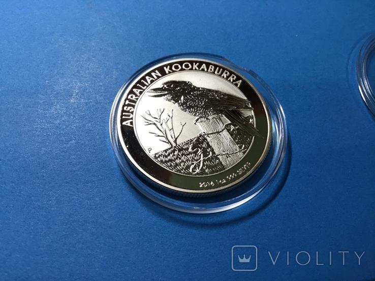 1 доллар Австралия 2016 года. Копия, фото №4