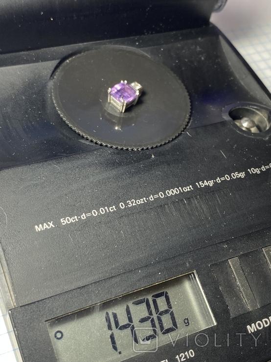 Подвеска/кулон из серебра 925° 1,43 гр., фото №10
