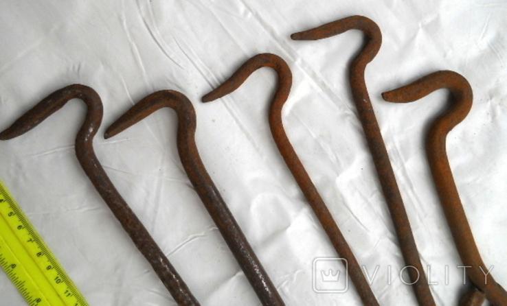 Крючки-5 штук., фото №4