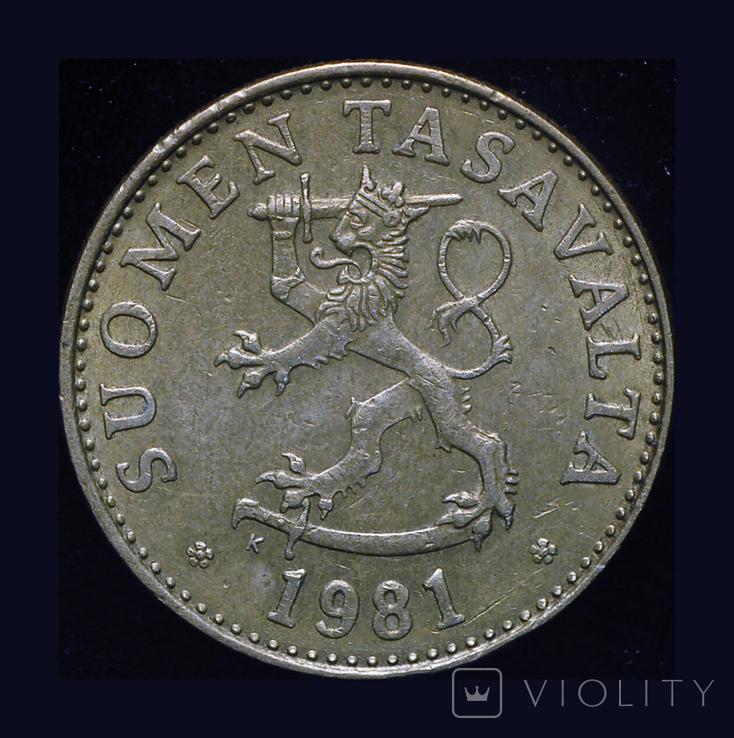 Финляндия 50 пенни 1981, фото №3