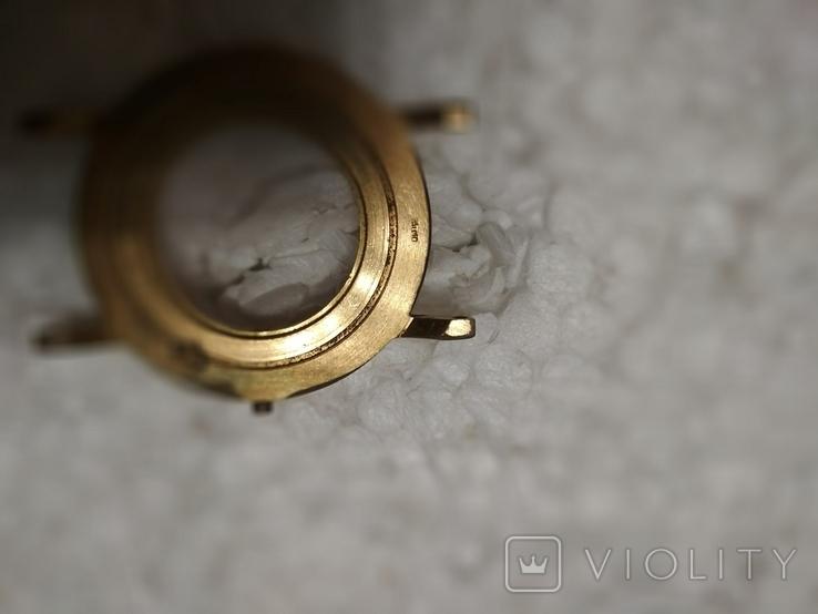 Позолоченный корпус AU10 к наручным часам, фото №8