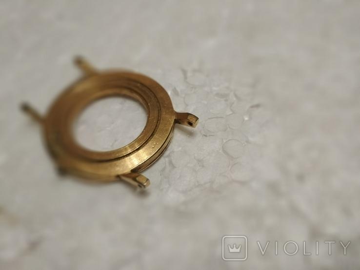 Позолоченный корпус AU10 к наручным часам, фото №10